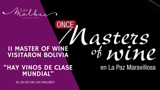 Masters of Wine en Bolivia