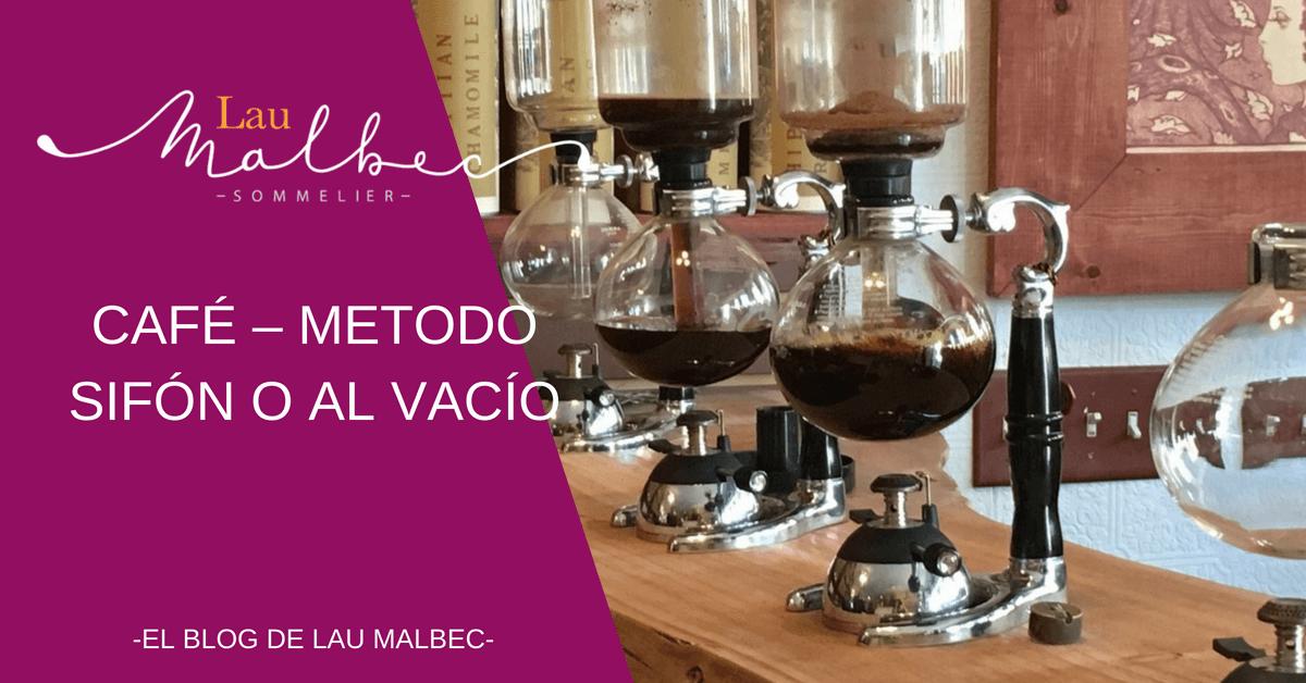 Café Metodo sifón o al vacío