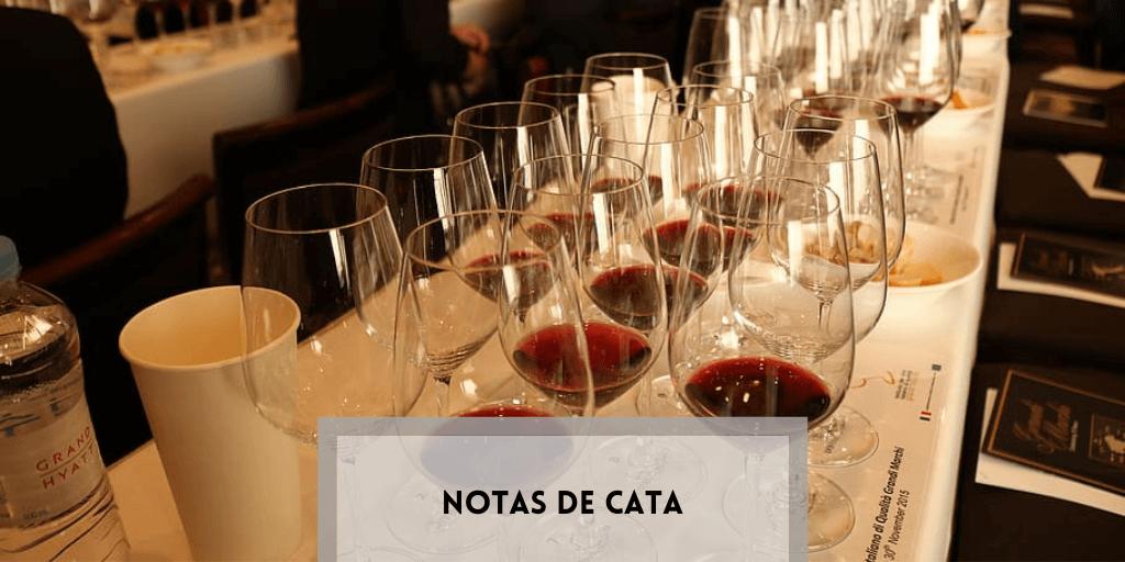 Notas de cata de vino